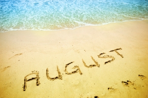 August Written on the Sand